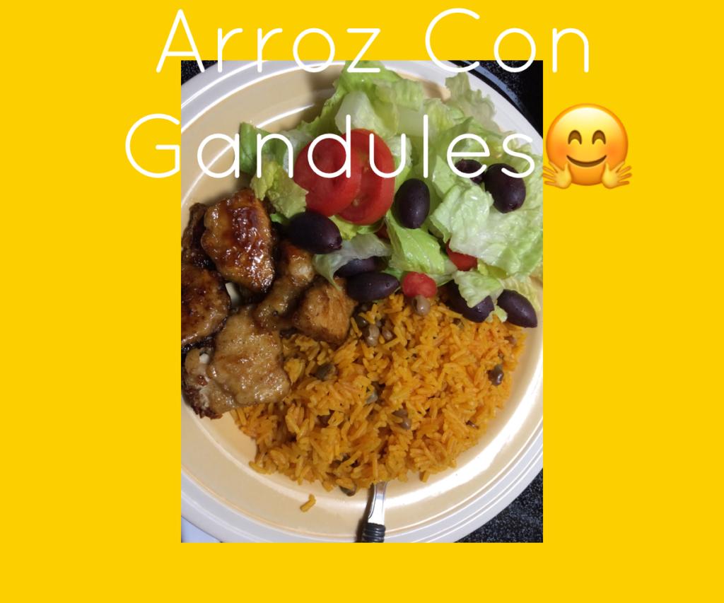 #spanishrice #gandules #vegan #healthyeating #BeaBetterYou #Yummy #delicious